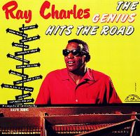 Cover Ray Charles - The Genius Hits The Road