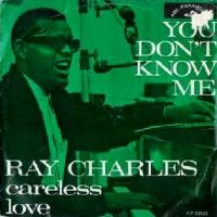 Cover Ray Charles - You Don't Know Me