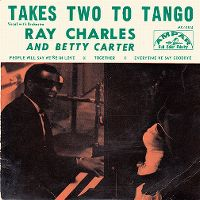 Cover Ray Charles And Betty Carter - Takes Two To Tango