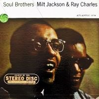 Cover Ray Charles & Milt Jackson - Soul Brothers