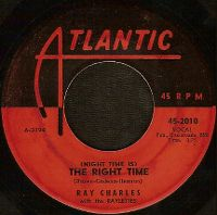 Cover Ray Charles With The Raylettes - (Night Time Is) The Right Time