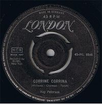 Cover Ray Peterson - Corrine Corrina