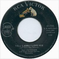Cover Ray Peterson - Tell Laura I Love Her