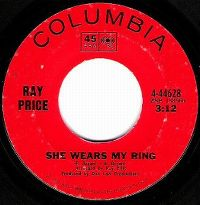 Cover Ray Price - She Wears My Ring