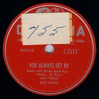 Cover Ray Price - You Always Get By