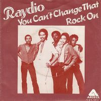 Cover Raydio - You Can't Change That