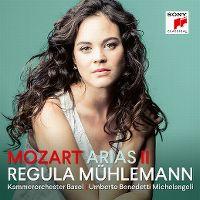Cover Regula Mühlemann / Kammerorchester Basel / Umberto Benedetti Michelangeli - Mozart: Arias II