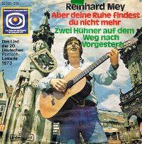 Cover Reinhard Mey - Aber deine Ruhe findest du nicht mehr