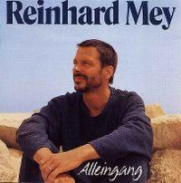 Cover Reinhard Mey - Alleingang