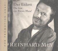 Cover Reinhard Mey - Das Etikett