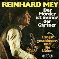 Cover Reinhard Mey - Der Mörder ist immer der Gärtner