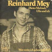 Cover Reinhard Mey - Dieter Malinek, Ulla und ich