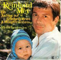 Cover Reinhard Mey - Ein Antrag auf Erteilung eines Antragformulars