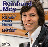 Cover Reinhard Mey - Es gibt Tage, da wünscht' ich, ich wär' mein Hund