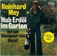 Cover Reinhard Mey - Hab Erdöl im Garten