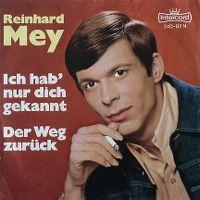 Cover Reinhard Mey - Ich hab' nur dich gekannt