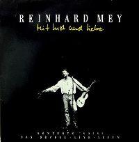 Cover Reinhard Mey - Mit Lust und Liebe