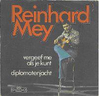 Cover Reinhard Mey - Vergeef me als je kunt