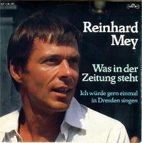 Cover Reinhard Mey - Was in der Zeitung steht