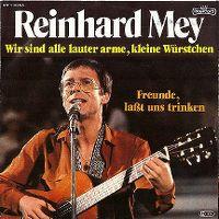 Cover Reinhard Mey - Wir sind alle lauter arme, kleine Würstchen