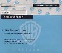 Cover R.E.M. - New Test Leper