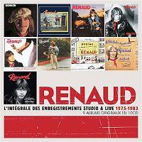 Cover Renaud - L'intégrale des enregistrements studio & Live 1975-1983