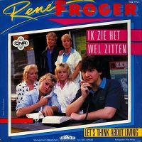 Cover René Froger - Ik zie het wel zitten