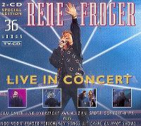 Cover Rene Froger - Live In Concert