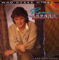 Cover René Froger - Who Dares Wins
