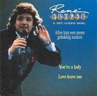 Cover René Froger & Het Goede Doel - Alles kan een mens gelukkig maken