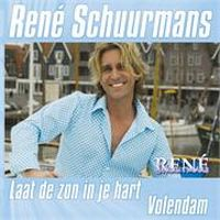 Cover René Schuurmans - Laat de zon in je hart