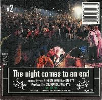 Cover René Shuman & Angel-Eye - The Night Comes To An End