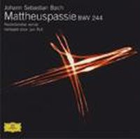 Cover Residentie Orkest o.l.v. Jos Vermunt - Bach: Mattheuspassie