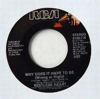 Cover Restless Heart - Why Does It Have To Be (Wrong Or Right)