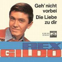 Cover Rex Gildo - Geh' nicht vorbei