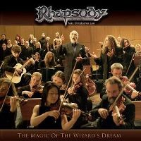Cover Rhapsody feat. Christopher Lee - The Magic Of The Wizard's Dream