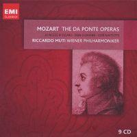 Cover Riccardo Muti / Wiener Philharmoniker - The Da Ponte Operas - Mozart