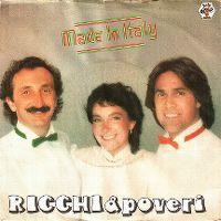 Cover Ricchi & Poveri - Made In Italy