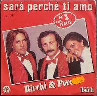 Cover Ricchi & Poveri - Sarà perché ti amo