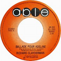 Cover Richard Clayderman - Ballade pour Adeline