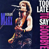 Cover Richard Marx - Too Late To Say Goodbye
