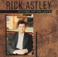Cover Rick Astley - Giving Up On Love