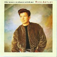 Cover Rick Astley - She Wants To Dance With Me