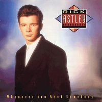 Cover Rick Astley - Whenever You Need Somebody