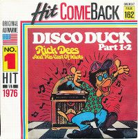 Cover Rick Dees And His Cast Of Idiots - Disco Duck