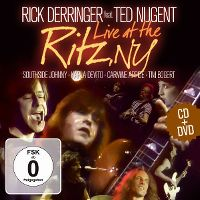 Cover Rick Derringer feat. Ted Nugent - Live At The Ritz, NY
