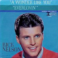 Cover Rick Nelson - A Wonder Like You