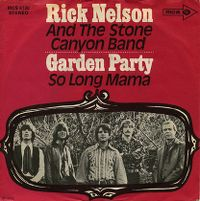 Cover Rick Nelson & The Stone Canyon Band - Garden Party