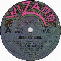 Cover Rick Springfield - Jessie's Girl