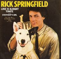 Cover Rick Springfield - Love Is Alright Tonite